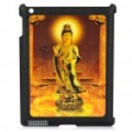 3D imagem padrão PC voltar caso protetor para iPad 2 - A deusa da misericórdia