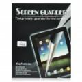 Filme protetor protetor de protetor de tela clara com pano de limpeza para o novo iPad