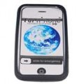 Protetor de silicone para Apple iPhone 3G (preto)