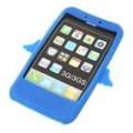 Anjo estilo Silicone Case para iPhone 3G/3GS (azul)