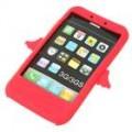 Anjo estilo Silicone Case para iPhone 3G/3GS (vermelha)
