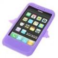 Anjo estilo Silicone Case para iPhone 3G/3GS (roxo)