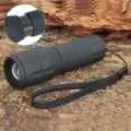 1-Modo 125-lúmen Zoom convexa lente Osram branco lanterna LED c / Strap (3 x AAA / 1 x 14500)