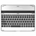 Capa do Bluetooth v 3.0 USB recarregável Magnalium 83-chave teclado para iPad 2