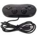 Classic com fio controlador de jogo para o Nintendo GameCube NGC e Wii (preto)
