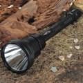 TrustFire X 7 SST-50 5-modo 1300-Lumen Memory LED branco lanterna com conjunto de pilhas (3 x 18650)