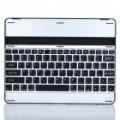 Caso de ligas de alumínio USB recarregável sem fio Bluetooth v 2.0 82-chave teclado para Apple iPad 2