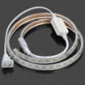 14.4W850LM 6500K x 60 5050 SMD LED flexível branca luz tira (1 M de comprimento / 220V)