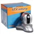Câmera de rede de TCP/IP de vigilância de segurança autônomo com panorâmica remoto motores