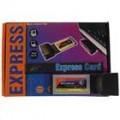 1 * USB 2.0 + 2 * Firewire 1394 Laptop porta expansão ExpressCard com cabos USB e Firewire