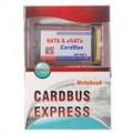 Placa de expansão de PCMCIA/Cardbus 2 portas SATA/eSATA para Laptops