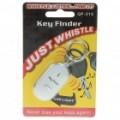 Apito ativado Key Finder com luz LED (2 * LR41)