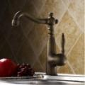 Antiguidades Bronze única alavanca banheiro torneira