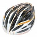 Cool esportes ciclismo capacete - preto + branco