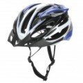 Cool esportes capacete ciclismo - azul + preto + branco
