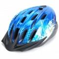 Cool esportes capacete ciclismo - azul + preto (58 ~ 63 cm)