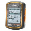 Verdadeiro Gssport GB-580 P GPS moto ciclismo computador velocímetro - preto + laranja