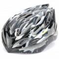 Cool esportes ciclismo capacete - preto + cinza