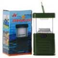 11-LED branco luz Camping e jardim lanterna - verde (3 * AA)