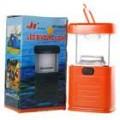 11-LED branco luz Camping e jardim lanterna - Orange (3 * AA)