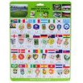 2010 FIFA World Cup 32 equipes broches Souvenir Set (conjunto de 34)