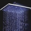 12 polegadas LED Color Changing Praça Shower Head