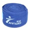 Boxe adesiva Sports bandagem/mão envoltórios - azul (par)