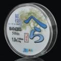0,165 mm 50m resina pesca de linha / Thread - branco (# 1)