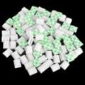 Cabo fio Clip Mount fixo com fita auto-adesiva - branco (100 peça Pack)