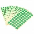 18 milímetros rodada chumbo livre embalagem RoHS etiqueta adesivos (15 x 50 Pack)