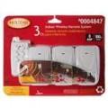 3-em-1 Wireless RF controle remoto AC Power Socket (AC 125V/625W)