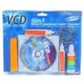 6-em-1 CD/VCD/DVD Player e Kit de limpeza de disco