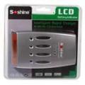 Soshine Hi-Tech LCD NiMH / NiCD Super carregador rápido