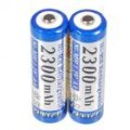 2300mAh Ni-MH recarregável AA pilhas (2-Pack)