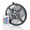 3P 300 x 3528 SMD LED RGB flexível Light Strip (5 M-comprimento/DC 12V)
