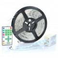 72W Soft flexível cortável 270-LED SMD lâmpada fita Strip-(RGB 5 metros/DC 12V)
