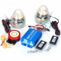 Sistema de alarme de segurança anti-roubo com MP3 Speaker para motocicleta