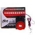Vibração activado 100dB motocicleta anti-roubo segurança alarme com controle remoto das chaves