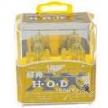 HOD H11 100W 2800K Super brilhante carro amarelo lâmpadas (par/DC 12V)