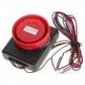 Vibração activado 110dB motocicleta anti-roubo segurança alarme c / controle remoto